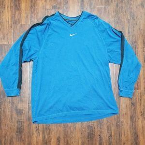 Nike soft blue long tee